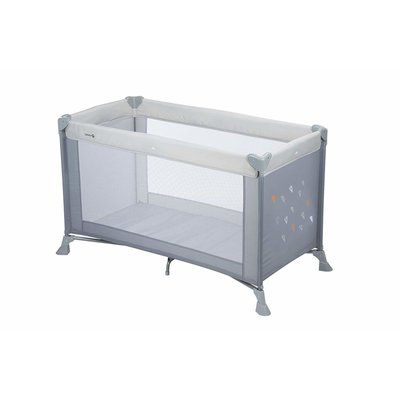 Safety 1st Travel Cot Soft Dreams - Warm Grey - Default