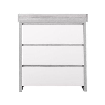 Tutti Bambini Modena Changing Unit - Grey Ash/White