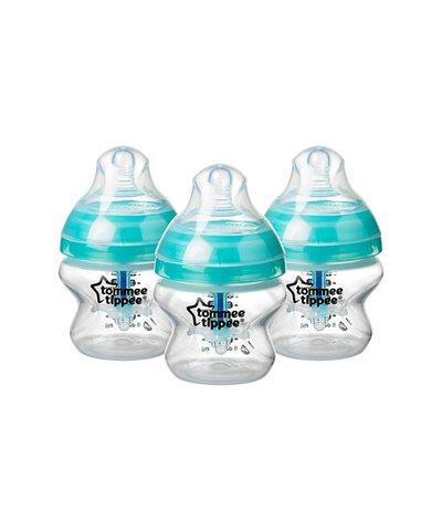 Tommee Tippee Advanced Anti-Colic 150ml bottles - 3 Pack