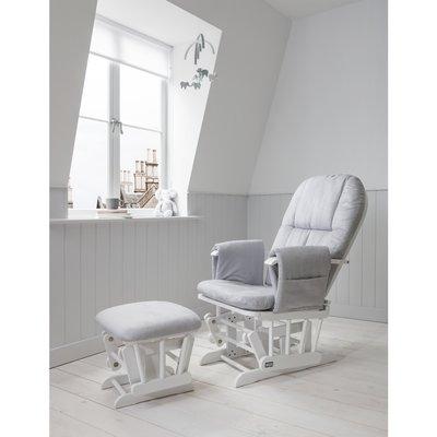 Tutti Bambini Glider Chair - Grey/White