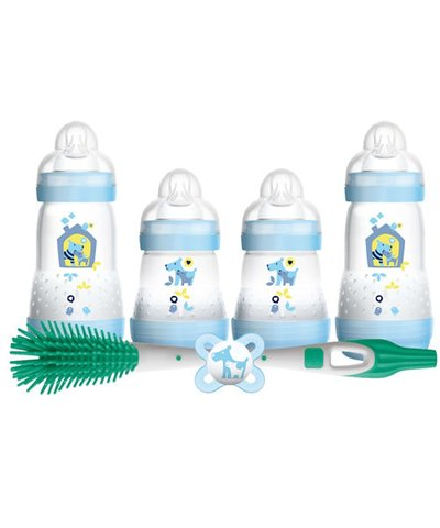MAM Newborn Feeding Set - Blue