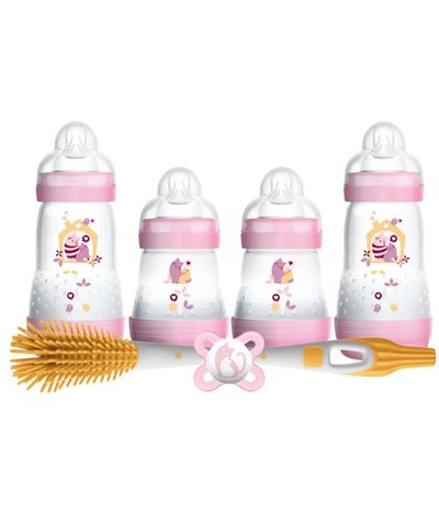 MAM Newborn Feeding Set - Pink