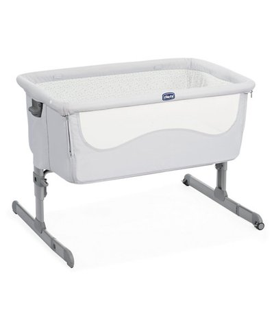 Chicco Next2Me Side Sleeping Crib - Light Grey