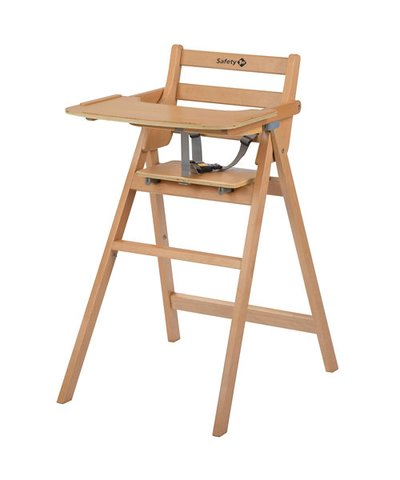 Safety 1st Nordic Folding Highchair - Natural