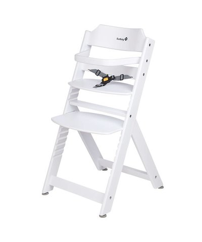 Safety 1st Timba Wooden Highchair - White