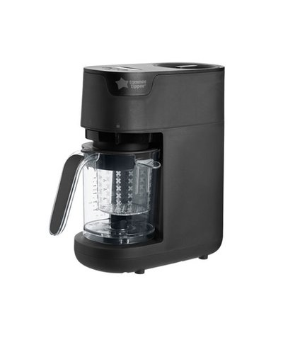 Tommee Tippee quick-cook baby food maker - black