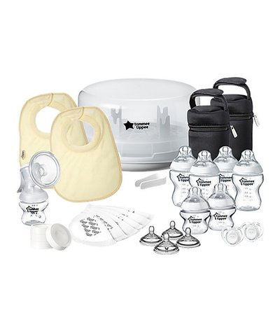Tommee Tippee CTN Microwave Steriliser & Manual Pump Kit