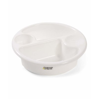 Mamas & Papas Top & Tail Bowl - White