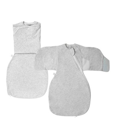 Tommee Tippee GrobagSwaddle Wrap 0-3m -  Grey Marl