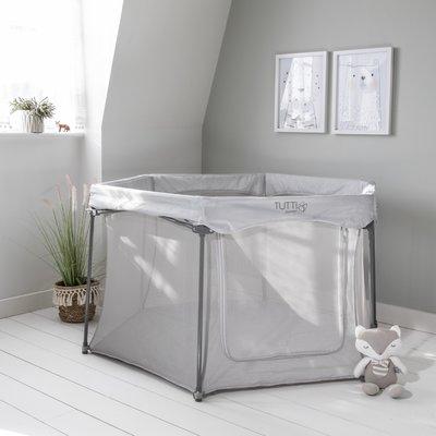 Tutti Bambini Hexa Playpen - Grey - Default