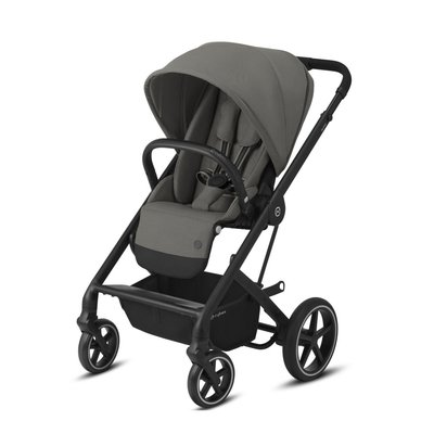 Cybex Balios S Lux Black Pushchair - Soho Grey - Default