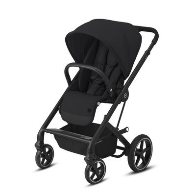 Cybex Balios S Lux Black Pushchair - Deep Black - Default