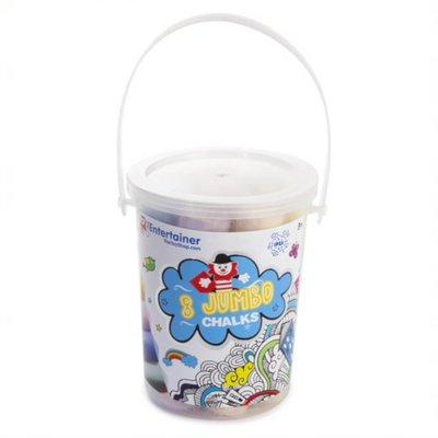 Bucket of 8 Chalks