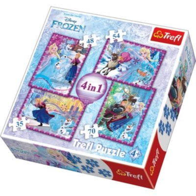 Disney Frozen 4in1 - Puzzles