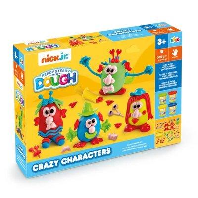 Nick Jr. Dough Crazy Characters Playset