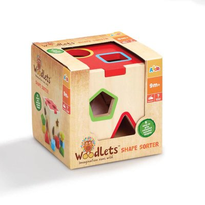 Woodlets Shape Sorter