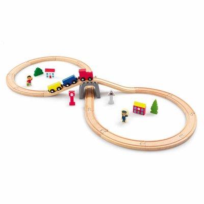 Woodlets 30 Piece Train Set