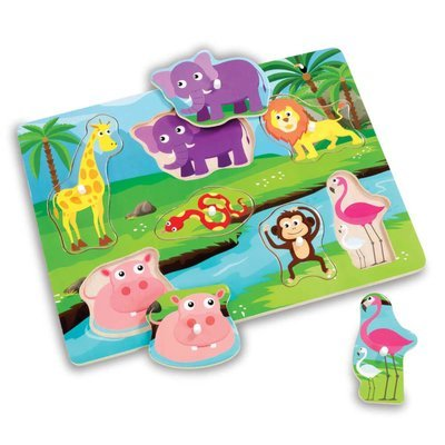 Woodlets Safari Puzzle