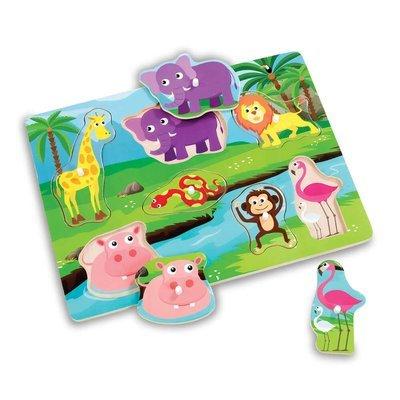 Woodlets Safari Puzzle