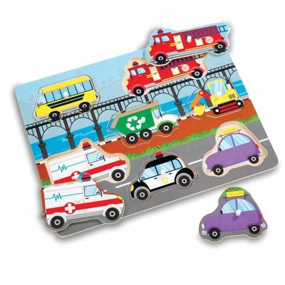Woodlets Vehicle Puzzle