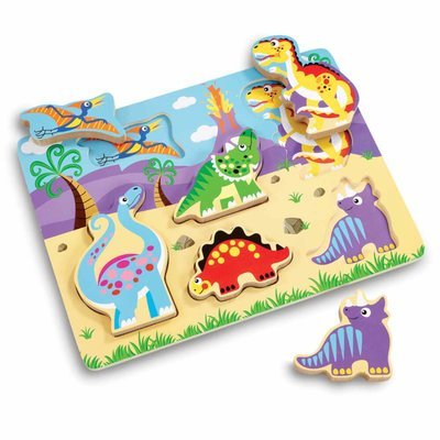 Woodlets Chunky Dino Puzzle