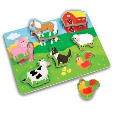 Woodlets Chunky Farm Puzzle