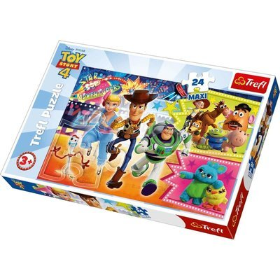 Disney Pixar Toy Story 4 Puzzle - 24 Maxi Pieces