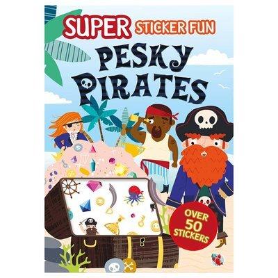 Super Sticker Fun - Pesky Pirate