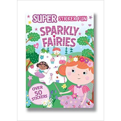 Super Sticker Fun - Sparkly Fairies
