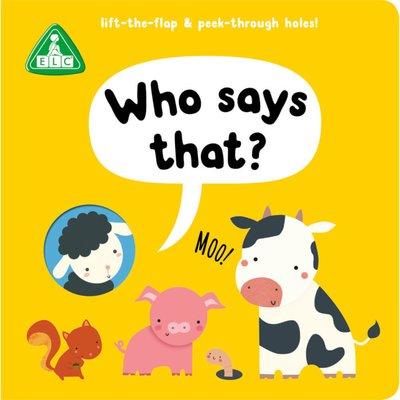 ELC Peep Through Book Who Says That
