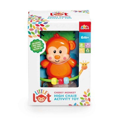 Little Lot Cheeky Monkey Highchair Toy