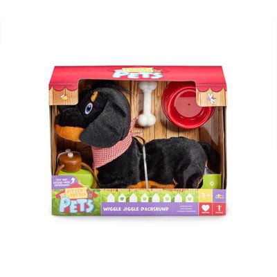 Pitter Patter Pets Wiggle Jiggle Dachshund