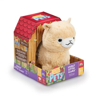 Pitter Patter Pets Lively Soft Toy Llama (Styles Vary)