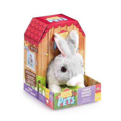 Pitter Patter Pets Teeny Weeny Bunny- Grey