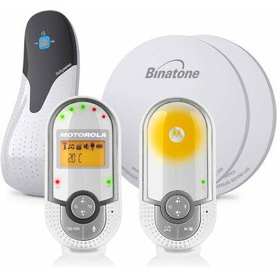 Motorola MBP16 Audio Baby Monitor & BabySense Bundle