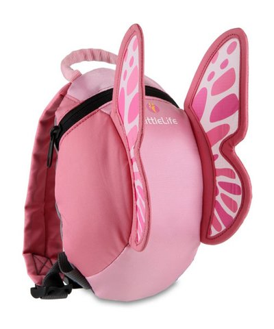LittleLife Toddler Daysack- Butterfly
