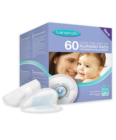 Lansinoh Disposable Nursing Pads- 60 Pack
