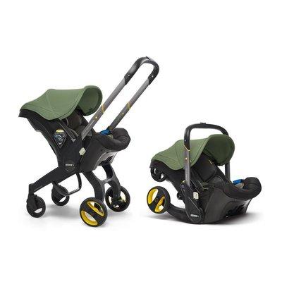 Doona Infant Car Seat/Stroller - Desert Green