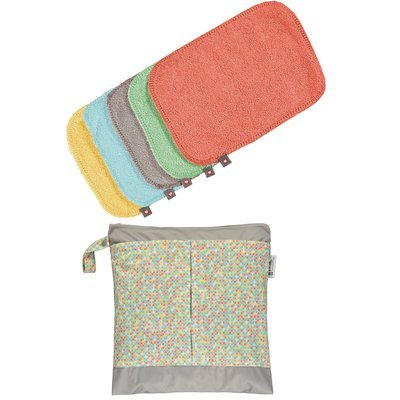 Pop-In Reusable Baby Wipes - Pastels