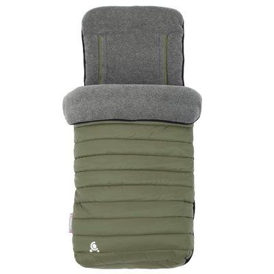 CuddleCo Snug 2in1 Footmuff and Liner - Khaki