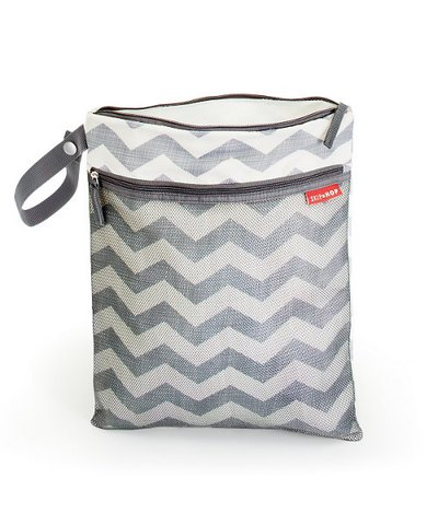 Skip Hop Grab&Go Wet/Dry Bag - Chevron