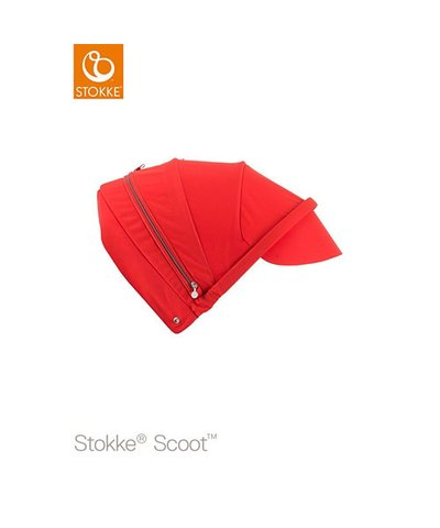 Stokke Scoot Canopy - red