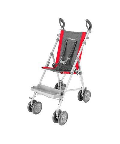 Maclaren Major Elite Stroller - Cardinal/Charcoal