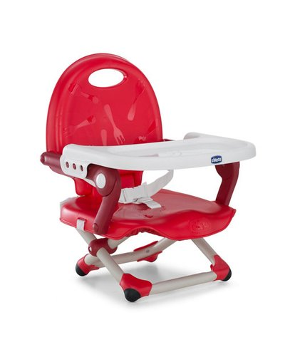 Chicco Pocket Snack Booster - Red