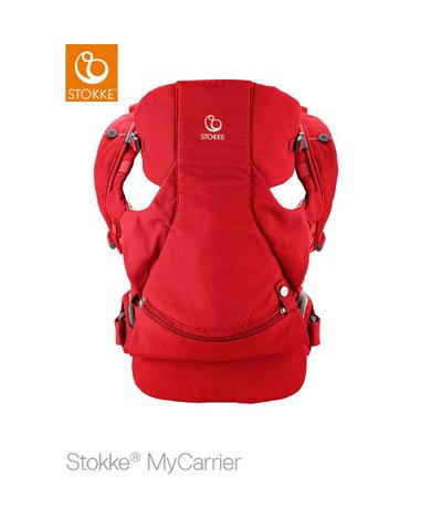 Stokke Front and Back Carrier - Red