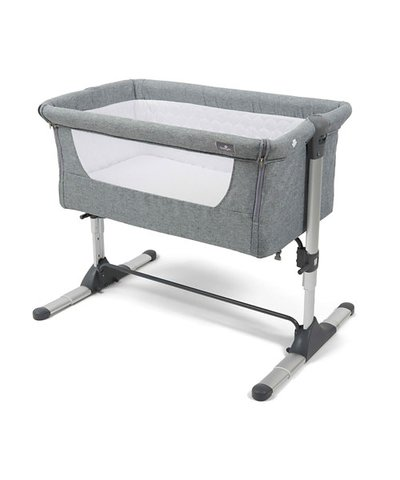 Babylo Co-Sleeper Snuggle Cuddle - Grey
