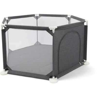 Babylo Safe and Secure Playpen- Dark Grey - Default
