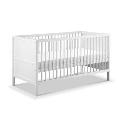 Babylo Westland Cot Bed - White - Default