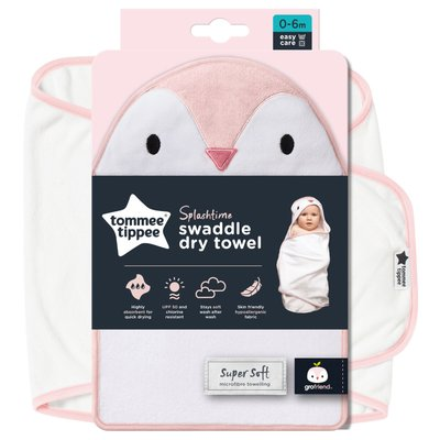 Tommee Tippee Gro Swaddle Dry - Penny the Penguin