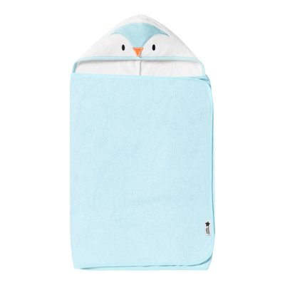 Tommee Tippee Splashtime Hug & Dry Towel - Percy the Penguin